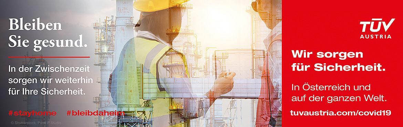 TÜV AUSTRIA Group: Bleiben Sie gesund. Wir sorgen für Sicherheit. (C) Shutterstock, P and P Studios.