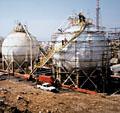 Die Geschichte des TÜV AUSTRIA: Kugelförmige Gas-Speicher-Behälter