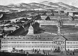 """Das 1784 eröffnete Allgemeine Krankenhaus in Wien setzt Maßstäbe und erlangte in ganz Europa großes Ansehen. 1998 übersiedelten Fakultäten der Universität Wien aus dem Neuen Institutsgebäude (""""NIG"""") in die Räumlichkeiten des ehemaligen AKH."""