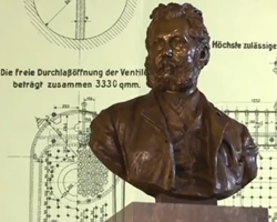 "Prof. Wilhelm Exner was one of the founding fathers of the ""Mutual Steam Boiler Inspection and Insurance Company"" in 1872 that has evolved into today's multi-national TÜV AUSTRIA Group. Click to play video about the history of TÜV AUSTRIA Group."