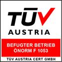 """Befugter Betrieb"" nach ÖNORM F 1053"