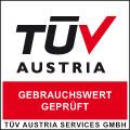 TÜV AUSTRIA - Gebrauchswert geprüft