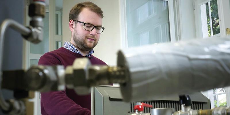 Florian Kamleitner, TU Wien, TÜV AUSTRIA Wissenschafts-Stipendiat
