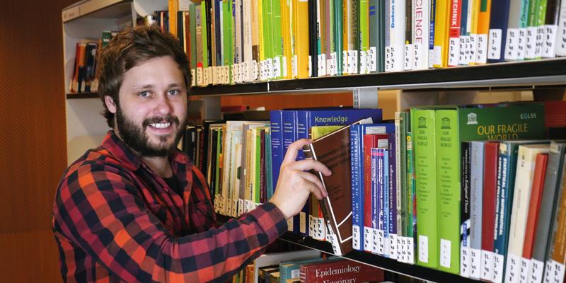 Florian Radinger, TU Wien, TÜV AUSTRIA Wissenschafts-Stipendiat
