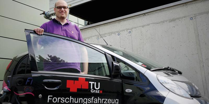 Manfred Großmann, TU Graz, TÜV AUSTRIA Wissenschaftsstipendiat