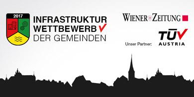 Infrastruktur-Wettbewerb der Gemeinden - Wiener Zeitung und TÜV AUSTRIA
