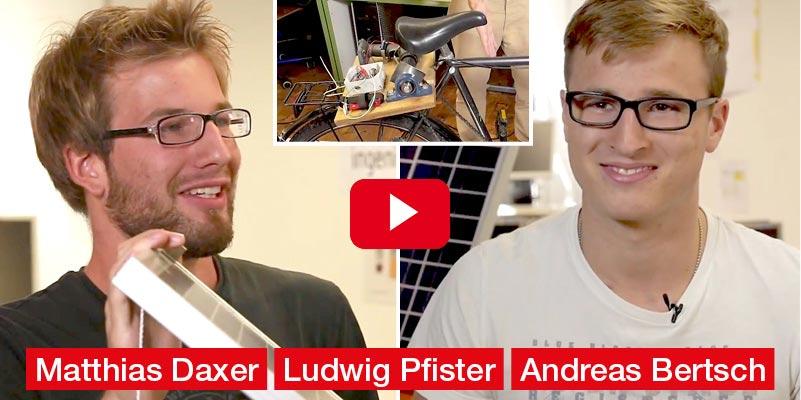 Matthias Daxer, Andreas Bertsch, Ludwig Pfister HTL INNSBRUCK Diplomarbeit 'Energy Harvesting 4 Electronic Devices'