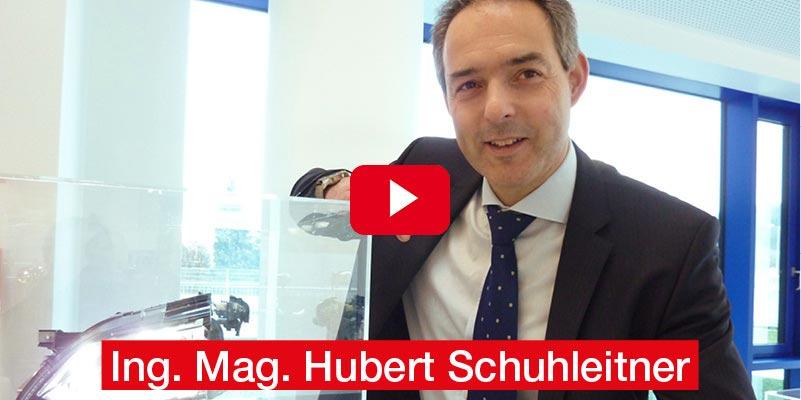 Ing. Mag. Hubert Schuhleitner ZKW GROUP, Wieselburg 'Der Scheinwerfer, der mitdenkt'
