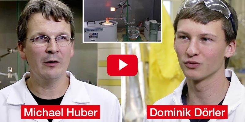 Michael Huber, Dominik Dörler HTL Dornbirn Diplomarbeit 'Zementherstellung aus Sekundärstoffen – Phosphor, Eisen und Zement aus Klärschlamm'