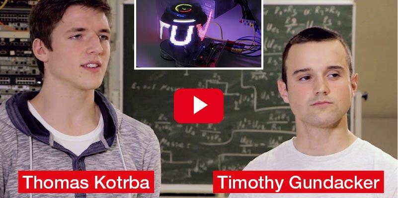 Thomas Kotrba, Timothy Gundacker, Alexander Ludwig Technologisches Gewerbemuseum Wien 20 Diplomarbeit 'LED-Hochleistungsplatine'