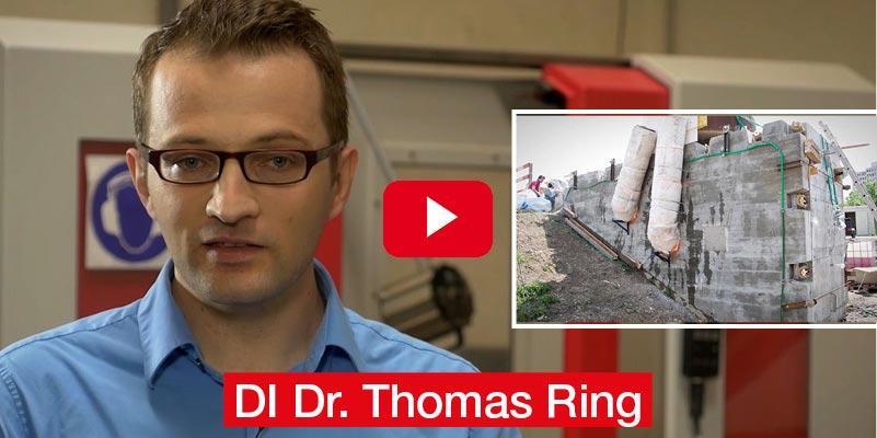 DI Dr. Thomas Ring TU WIEN Dissertation 'Experimentelle Charakterisierung und Modellierung von Beton bei hohen Temperaturen – Sicherheitsbetrachtungen von unterschiedlichen Tunnelgeometrien unter Feuerlast'