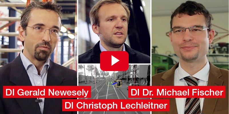 DI Gerald Newesely, DI Christoph Lechnleitner, DI Dr. Michael Fischer Bombardier Transportation Austria 'Innovatives Fahrerassistenzsystem für Straßen und Stadtbahnen'