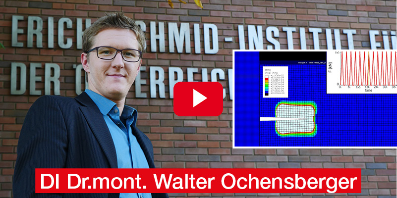 Dipl.-Ing. Dr.mont. Walter Ochensberger Montanuniversität Leoben Masterarbeit 'Characterization of fatigue crack growth with the configurational force concept'