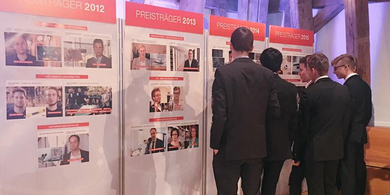 Der TÜV AUSTRIA Wissenschaftspreis feierte am 18.10.2016 sein fünftes Jubiläum.