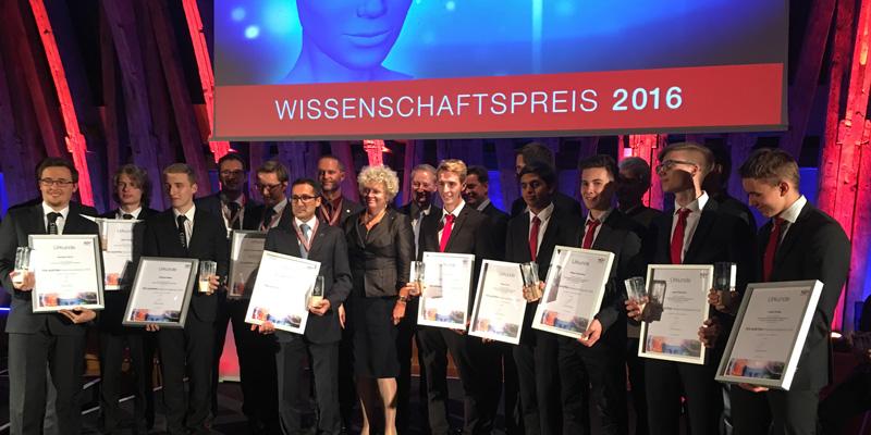 TÜV AUSTRIA Wissenschaftspreis 2016 im Kuppelsaal der TU Wien: Einreichungen für den Wissenschaftspreis 2017 können bis 30.6.2017 an wissenschaftspreis@tuv.at geschickt werden.
