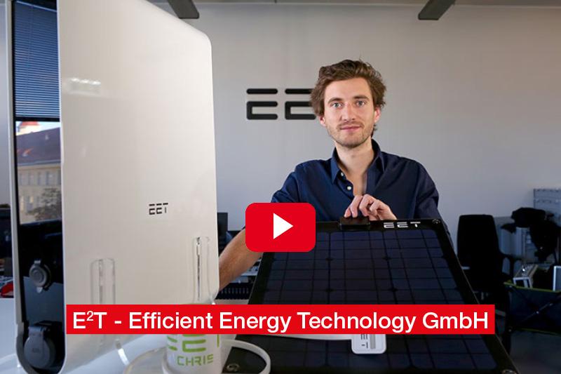 Dipl.-Ing. Dr. Christoph Grimmer E²T - Efficient Energy Technology GmbH 'SolMate - Das plug&play Kraftwerk für den Balkon'