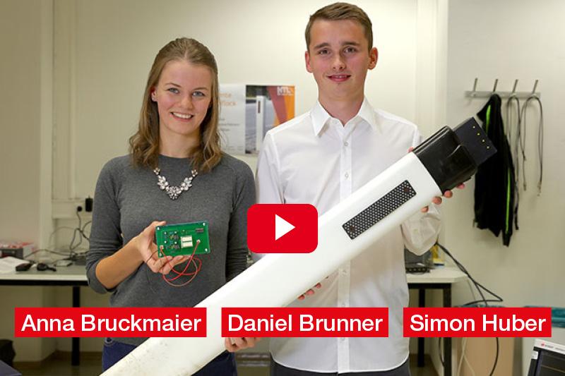Anna Bruckmaier, Daniel Brunner, Simon Huber HTL Braunau am Inn Diplomarbeit 'Der intelligente Straßenleitpflock'