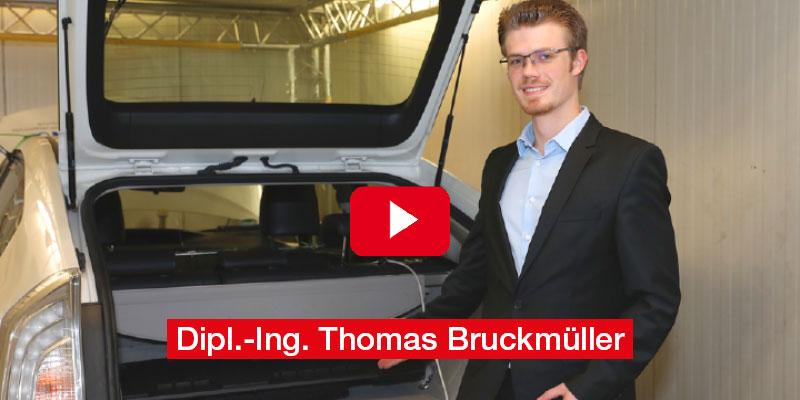 Dipl.-Ing. Thomas Bruckmüller Diplomarbeit TU Wien 'Batteriewechselsysteme: E-Mobilität im hochfrequenten Straßenverkehr'