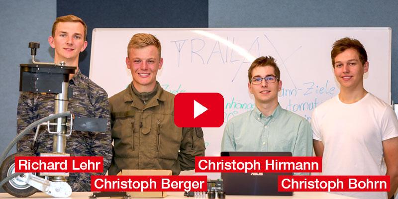 """Christoph Berger, Christoph Bohrn, Christoph Hirmann, Richard Lehr HTL Wien 3 Rennweg """"Trailax"""" - ein automatisch ankoppelnden Anhänger"""