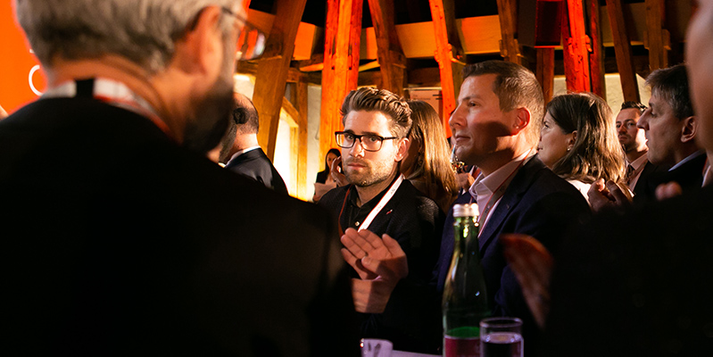 Von insgesamt 82 Einreichungen schafften es drei Projekte pro Kategorie für die Nominierung zum TÜV AUSTRIA Wissenschaftspreis 2019. Die Siegerprojekte wurden im Rahmen der Festveranstaltung im Kuppelsaal der TU Wien am Abend des 18. November prämiert. Einreichungen für 2020 unter www.tuvaustria.com/wissenschaftspreis (C) TÜV AUSTRIA, Saskia Jonasch