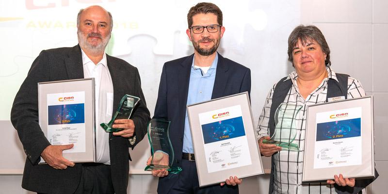 Der CISO Award 2018 geht an Ralf Kleinfeld von OTTO!