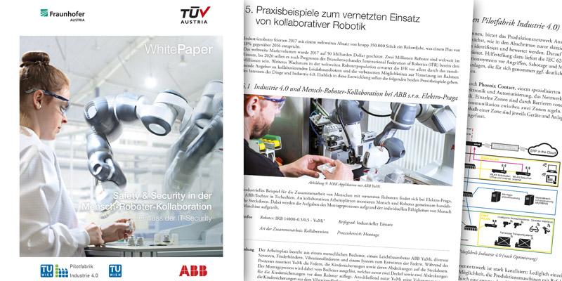 TÜV AUSTRIA White Paper Volume III: IT-Security, ABB, Fraunhofer, TU Wien Pilotfabrik, Alexandra Markis (TÜV AUSTRIA), Fabian Ranz (Fraunhofer)