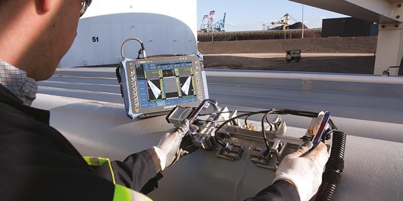 TÜV AUSTRIA Schallemissionsprüfung und ZfP - Zerstörungsfreie Prüfung - Advanced NDT - Acoustic Emission Testing