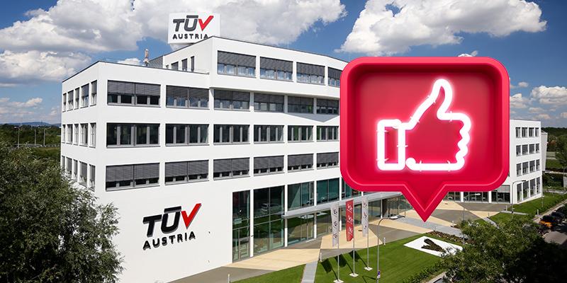 TÜV AUSTRIA Social Media Community bei 180.000 Followern (C) TÜV AUSTRIA, Andreas Amsüss, Illustration: Shutterstock, SPF