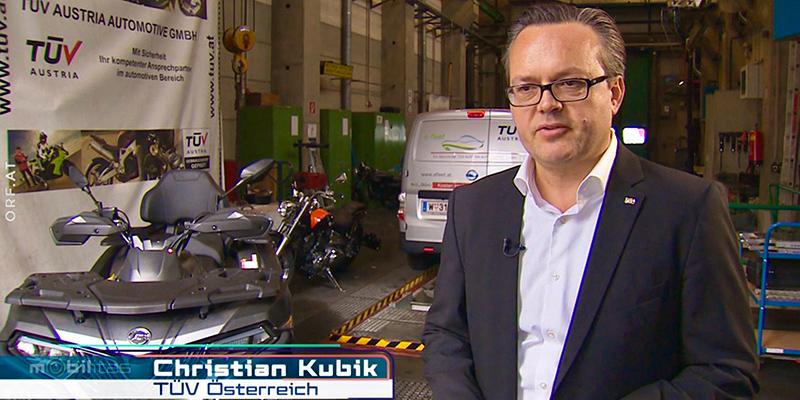 ORF2 mobilitas: TÜV AUSTRIA Experte Christian Kubik über Unterschiede in der Treibstoff Qualität