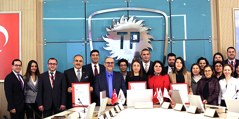 [Translate to English:] Turkyie Petrolleri / Turkish Petroleum Corporation von TÜV AUSTRIA Turk zertifiziert: EN ISO 9001: 2015, TS EN ISO 14001: 2015 und TS EN ISO 45001: 2018 (C) TÜV AUSTRIA Group