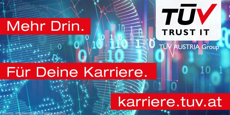 TÜV TRUST IT TÜV AUSTRIA - Mehr Drin für Deine Karriere - karriere.tuv.at (C) Shutterstock, Pablo Legarto