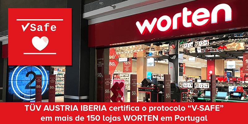 TÜV AUSTRIA Iberia: VSAFE certification brings security for companies: worten - Electronics Retail Chain