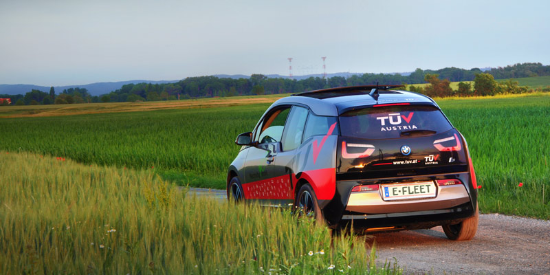 On the road to the vehicle fleet of the future - TÜV AUSTRIA e-fleet