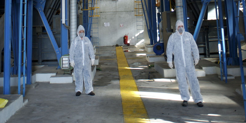 TÜV AUSTRIA Hellas inspected the hazardous medical waste incineration plant of Attica's regional waste management authority
