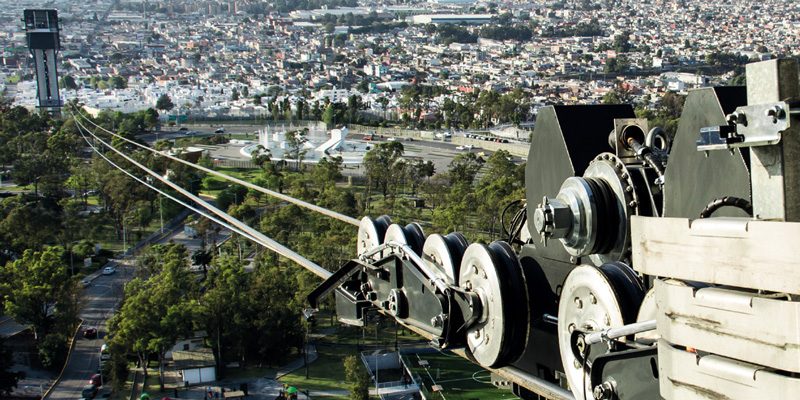 In the land of the Aztecs: TÜV AUSTRIA inspects Bartholet cable car in Puebla, Mexico
