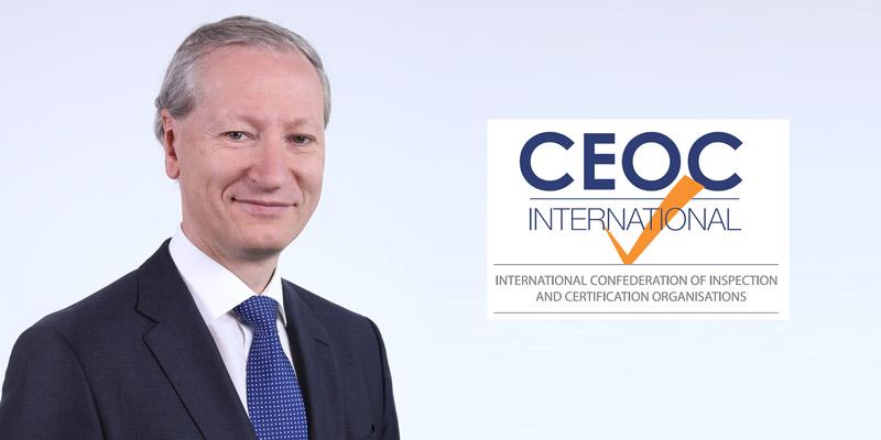 Dr. Stefan Haas, CEO TÜV AUSTRIA Group und Präsidenten der CEOC, der internationalen Vereinigung europäischer Inspektions- und Zertifizierungsunternehmen. (C) TÜV AUSTRIA, Andreas Amsüss