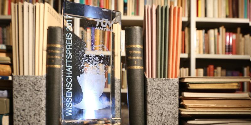 Wer holt den TÜV AUSTRIA Wissenschaftspreis 2017?