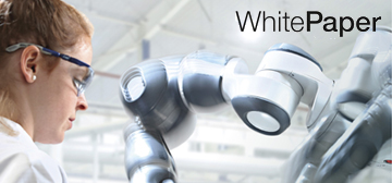 "Download now: white paper III ""Safety & Security in Human-Robot Collaboration"" by Fraunhofer Austria and TÜV AUSTRIA"