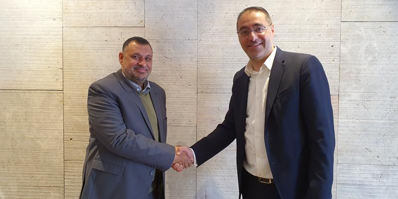 Welcome Jordan! Willkommen Jordanien! Mohammad Najjar und Ioannis Kallias - CCS Ltd. wird TÜV AUSTRIA Jordan! (C) TÜV AUSTRIA Group