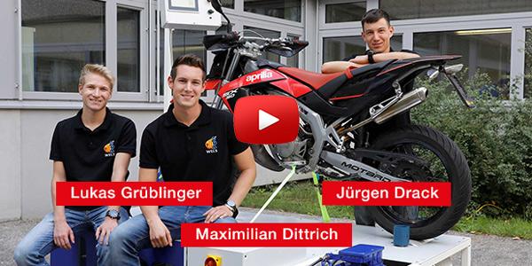 Lukas Grüblinger, Maximilian Dittrich, Jürgen Drack 'Leistungsprüfstand für Kleinmotorräder'