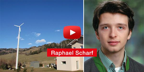 Raphael Scharf HTL Wolfsberg Diplomarbeit 'Ökologisierung der Energiebilanz eines Einfamilienhauses mithilfe einer Kleinwindkraftanlage'
