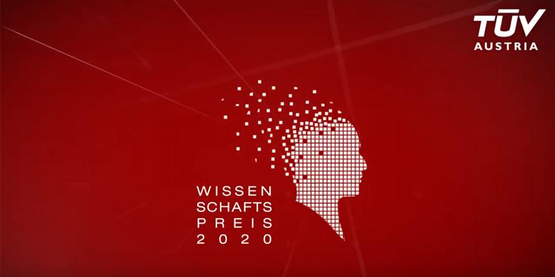 LIVE STREAM TÜV AUSTRIA #WiPreis Wissenschaftspreis ab 19.30 Uhr auf www.tuvaustria.com/wissenschaftspreis